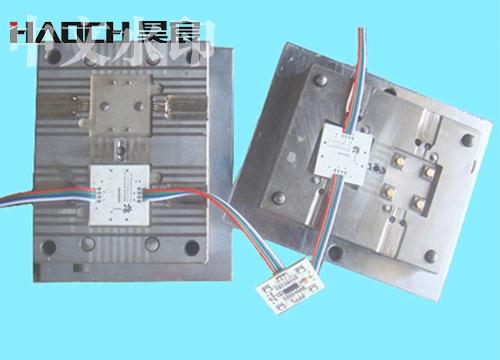 LED立式注塑模具