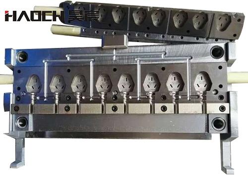 上海AC插头模具